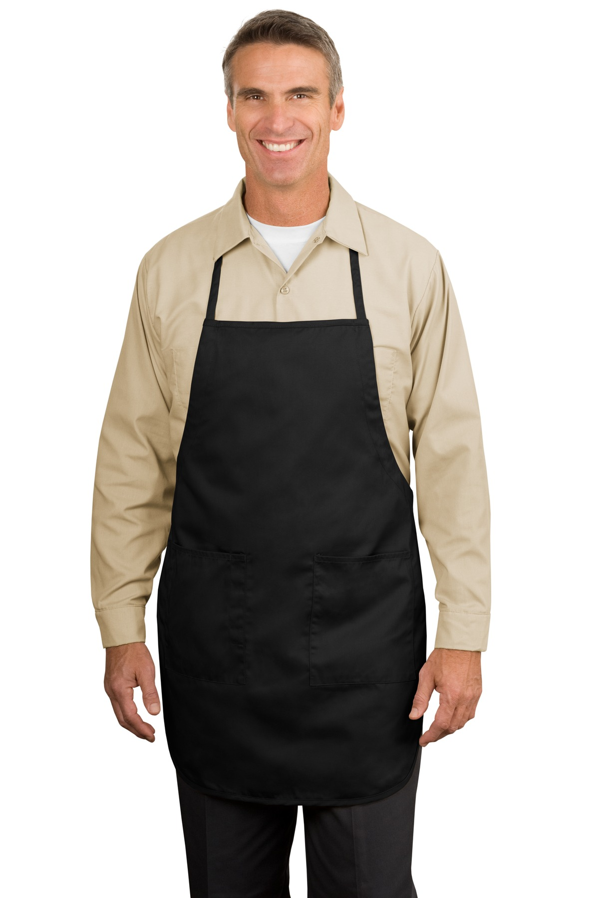 Port Authority ®  Full-Length Apron.  A520 - Black