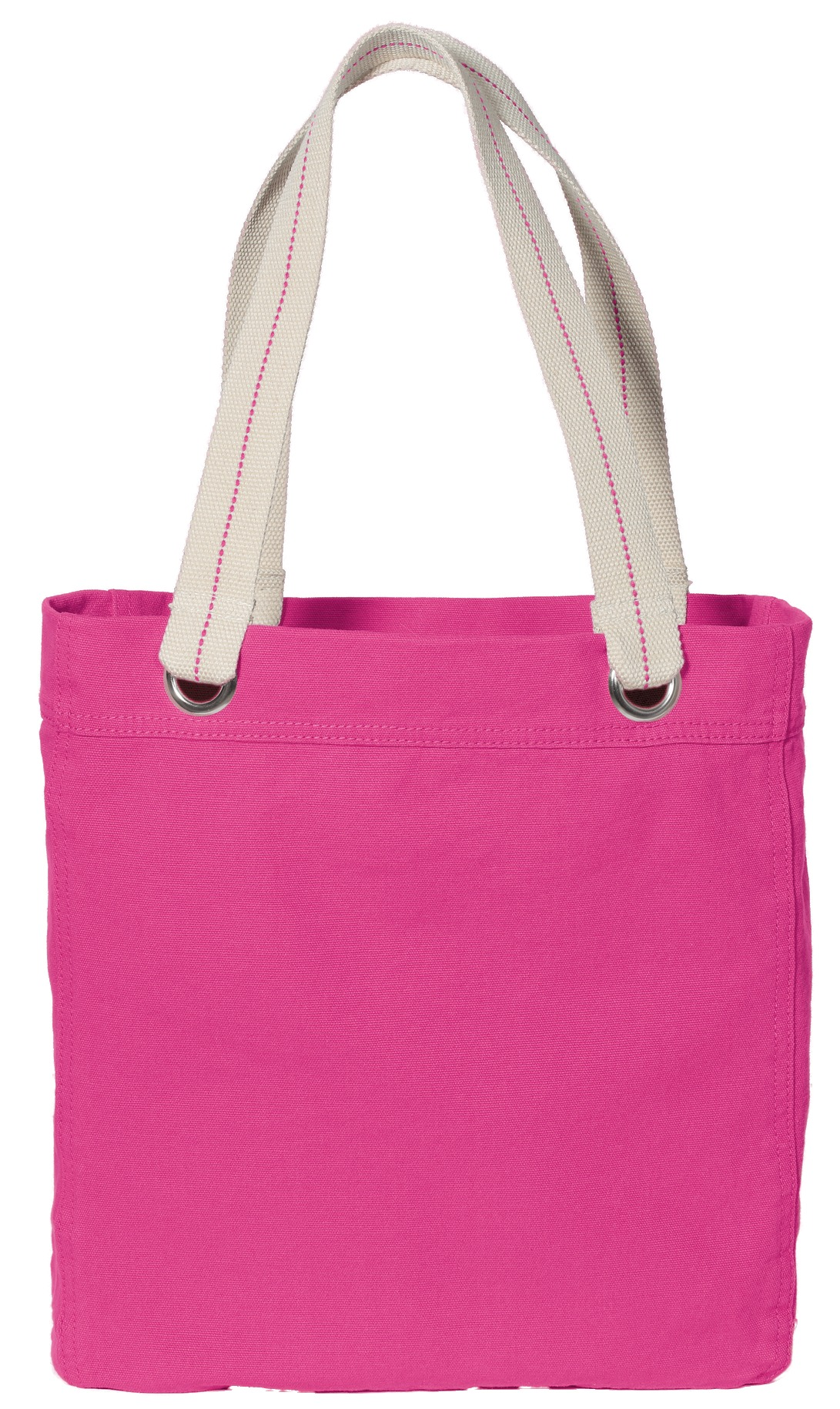 Port Authority ®  Allie Tote. B118 - Tropical Pink/ Chocolate