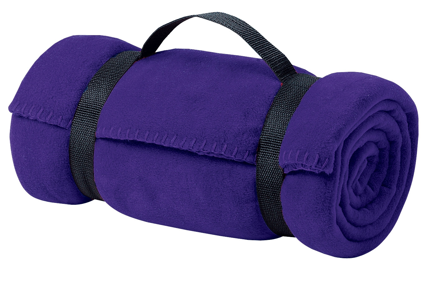 Port Authority ®  - Value Fleece Blanket with Strap.  BP10 - Purple