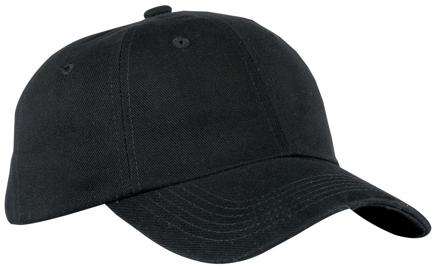 Port Authority ®  Brushed Twill Cap.  BTU - Black