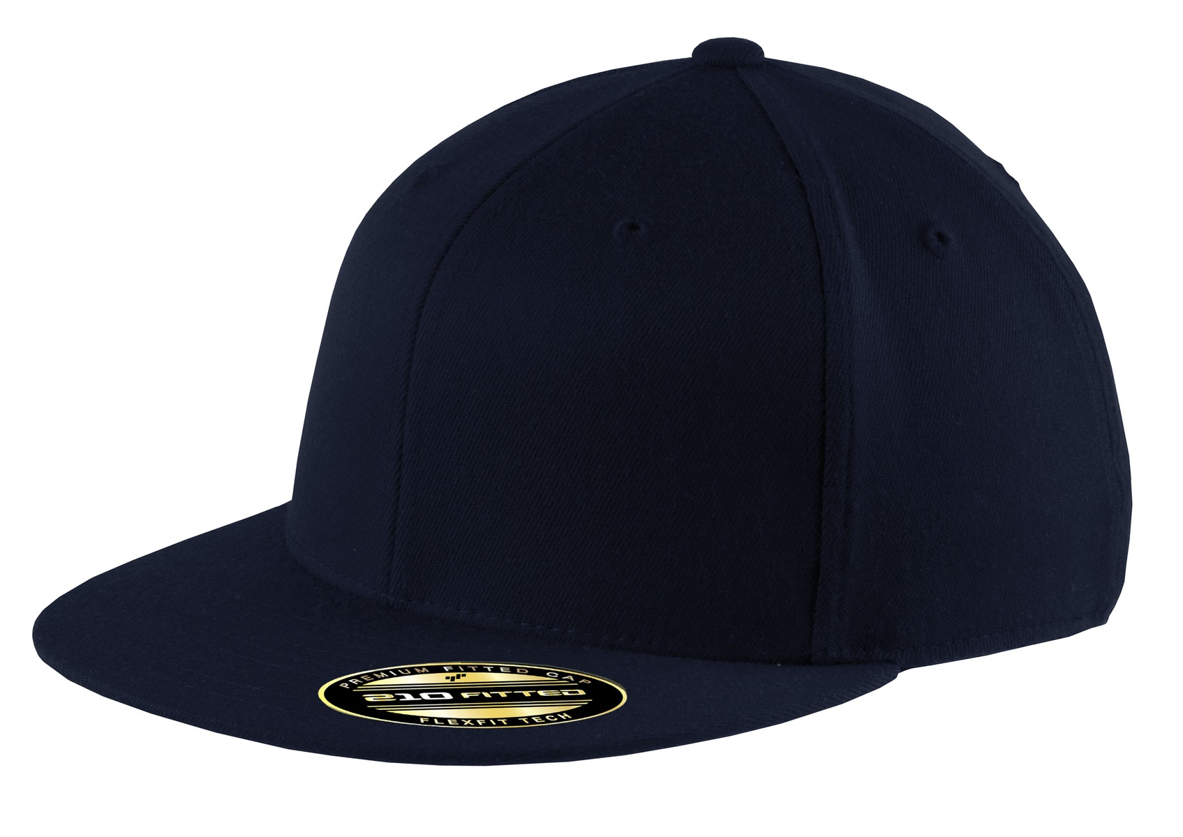 Port Authority ®  Flexfit 210 ®  Flat Bill Cap. C808 - Navy