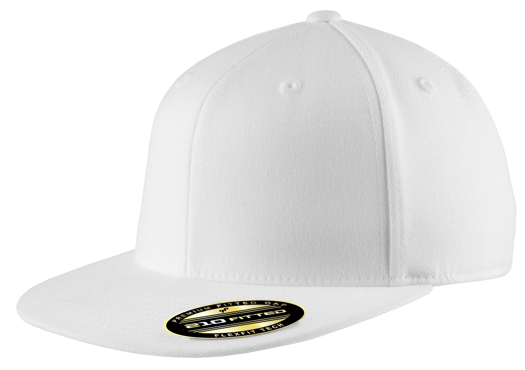 Port Authority ®  Flexfit 210 ®  Flat Bill Cap. C808 - White