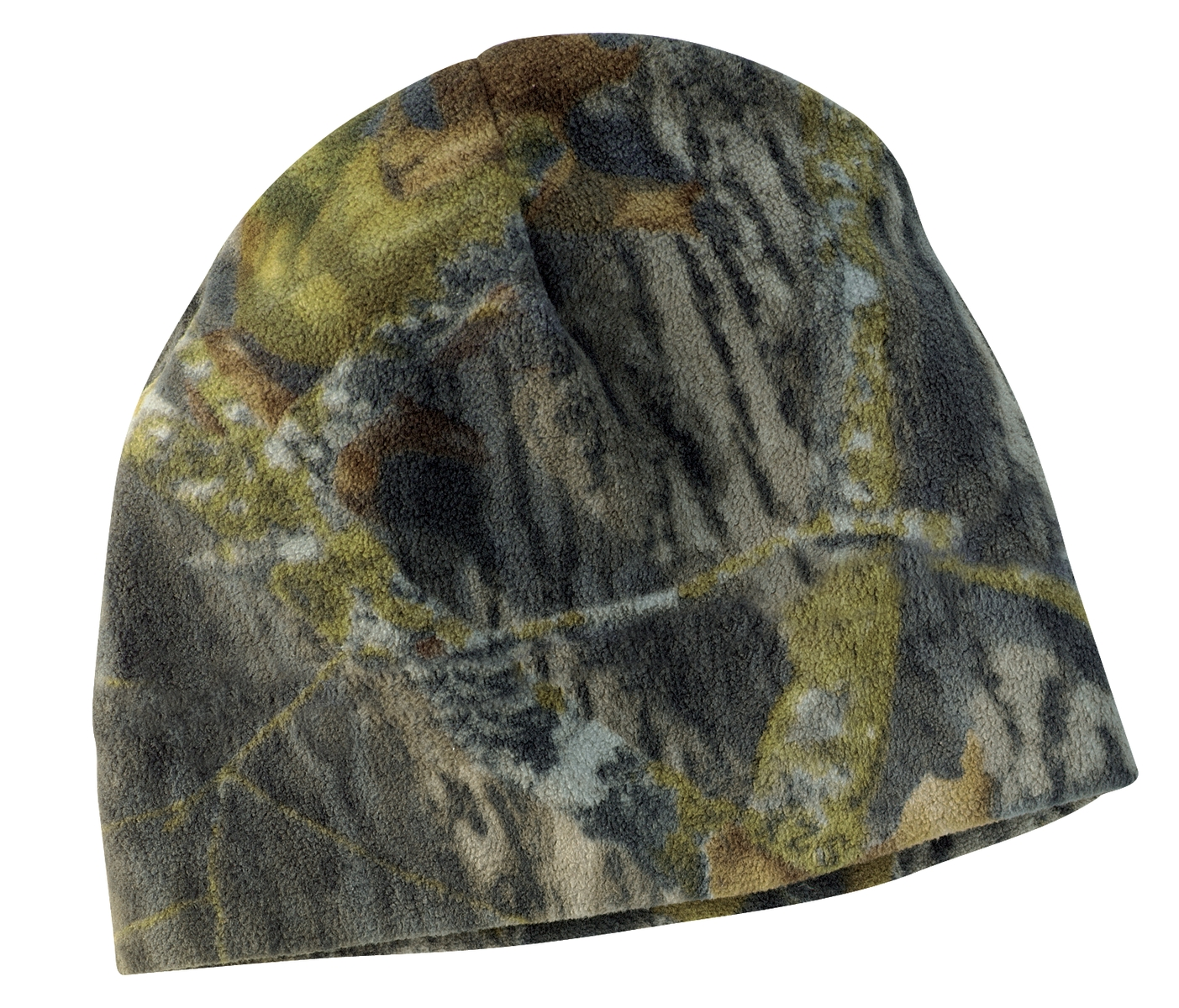 Port Authority ®  Camouflage Fleece Beanie. C901 - Mossy Oak/ New Break-Up