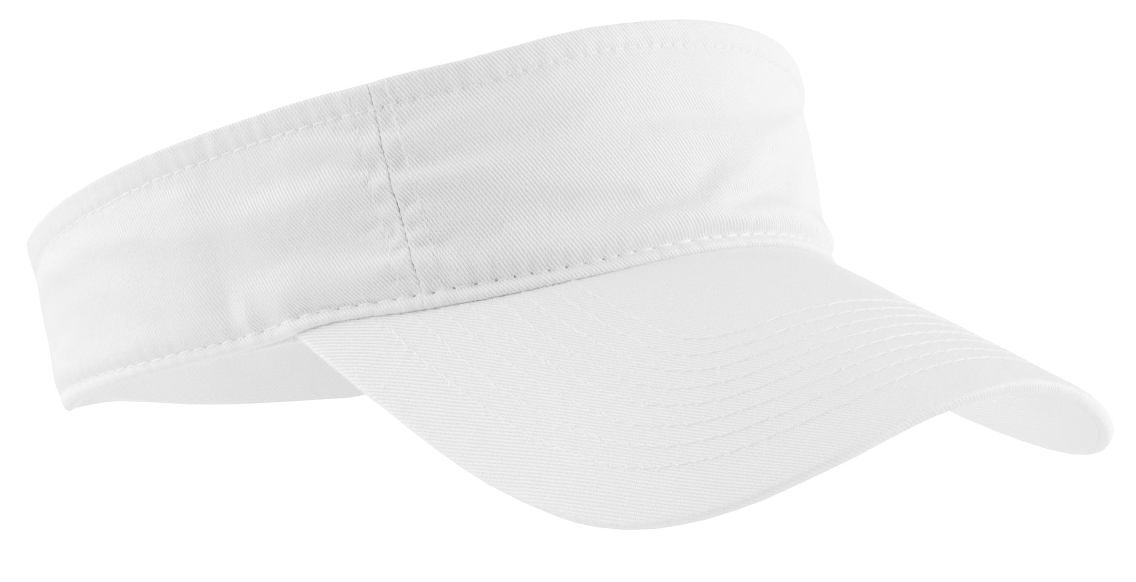 Port & Company ® Fashion Visor.  CP45 - White