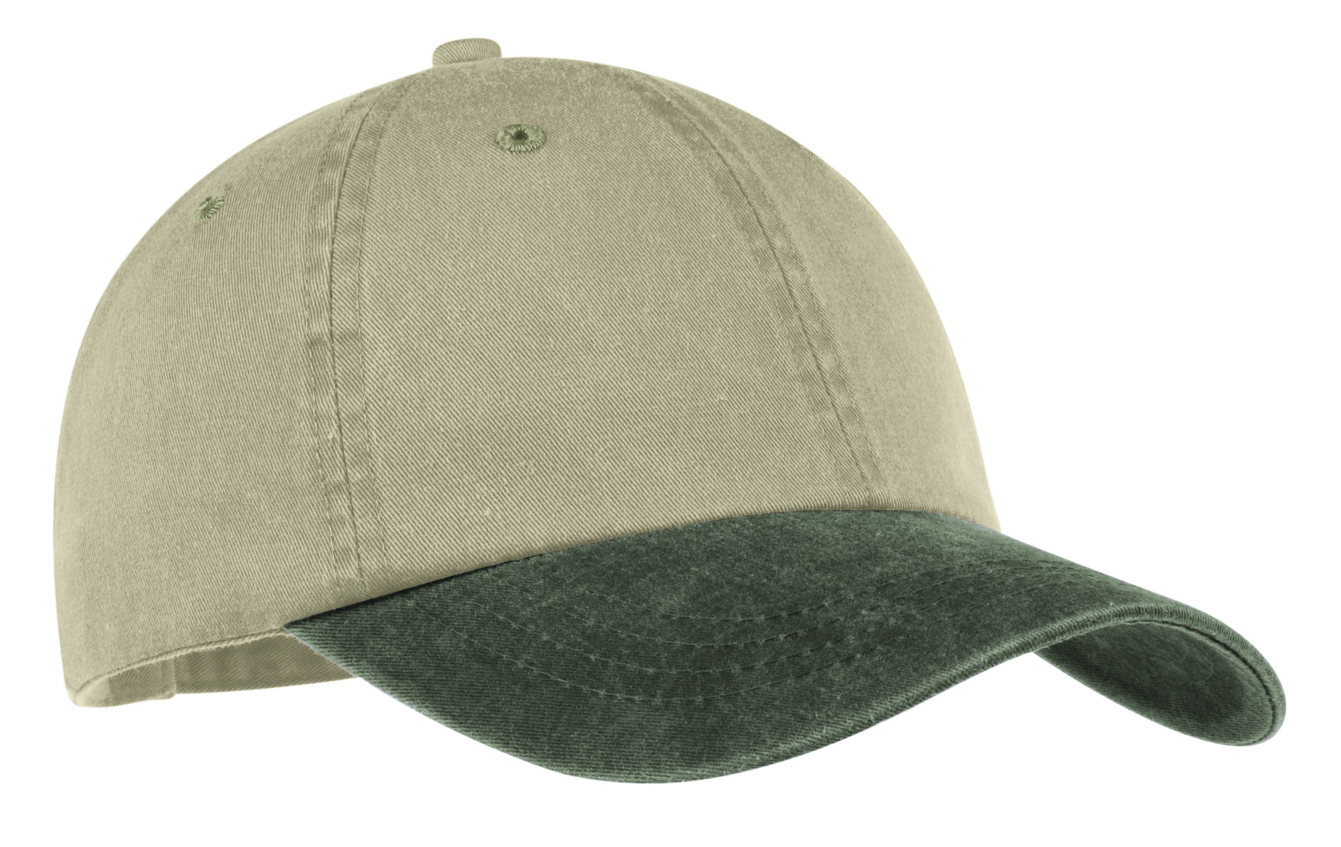 Port and Company -Two-Tone Pigment-Dyed Cap. CP83