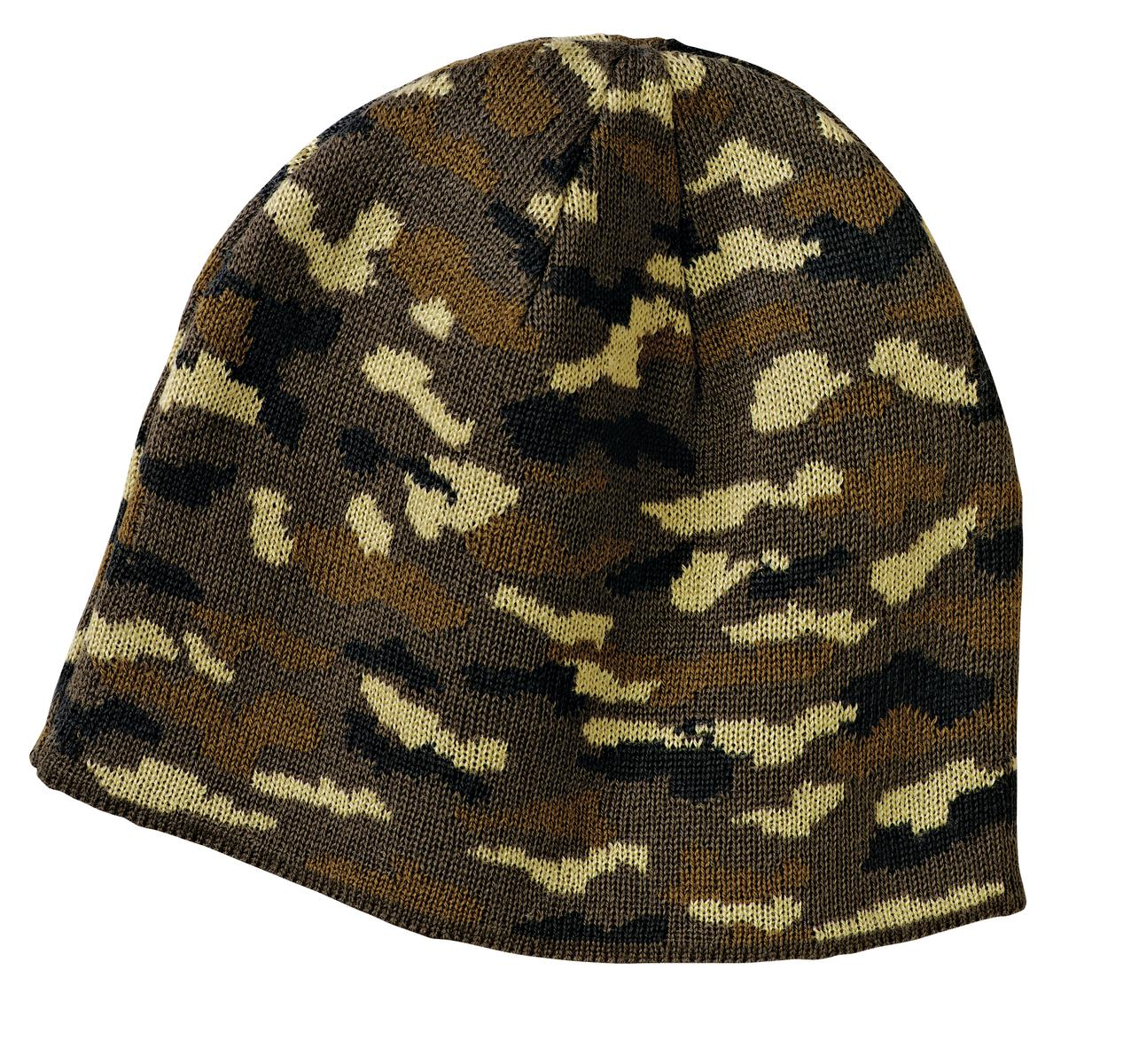 Port and Company - Camo Beanie Cap. CP91C
