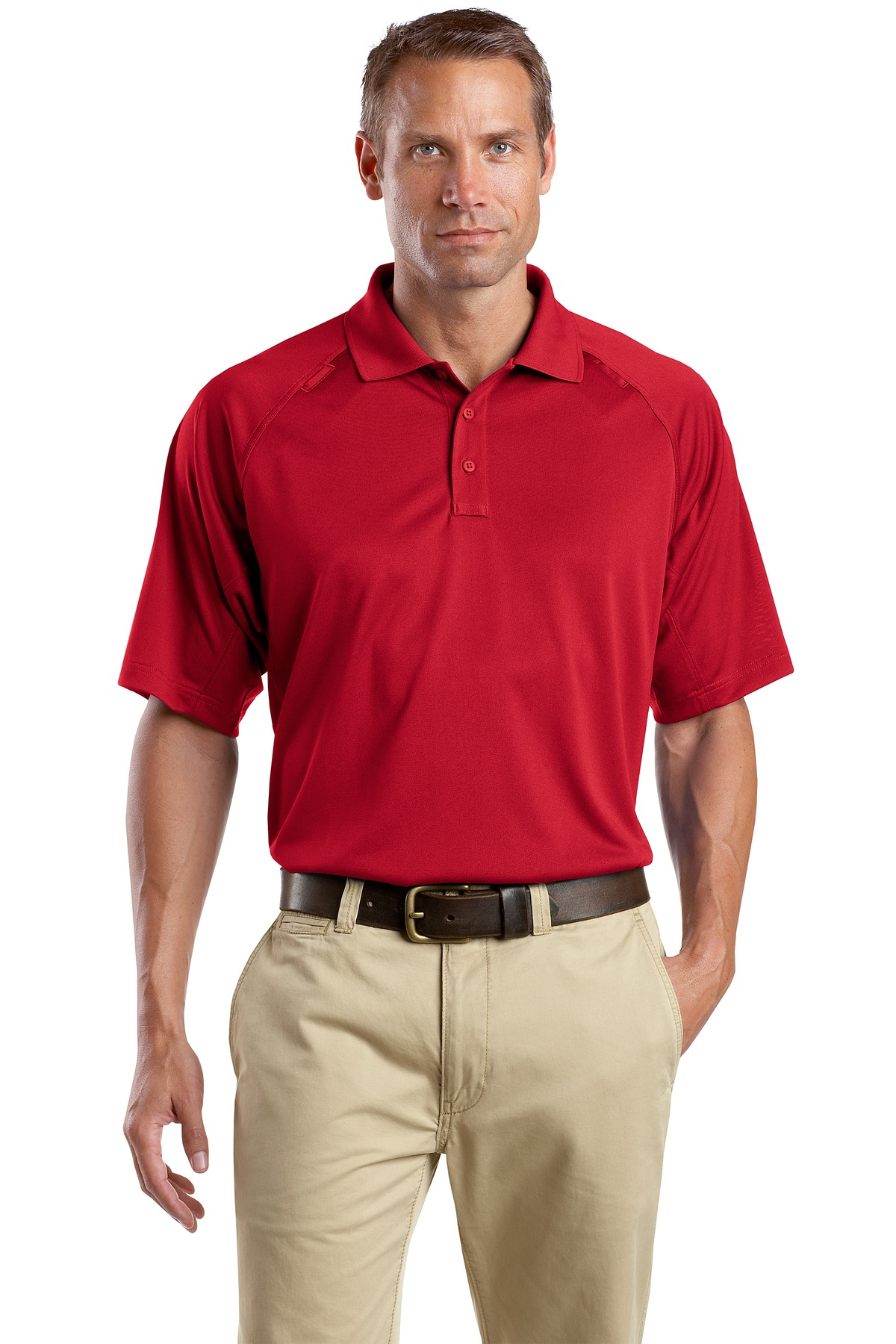 CornerStone ®  - Select Snag-Proof Tactical Polo. CS410 - Red