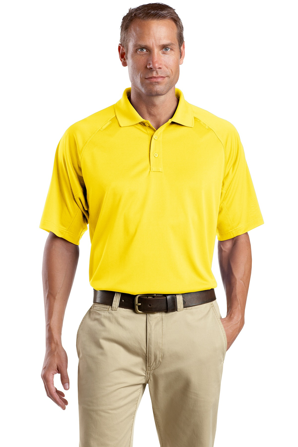 CornerStone ®  - Select Snag-Proof Tactical Polo. CS410 - Yellow