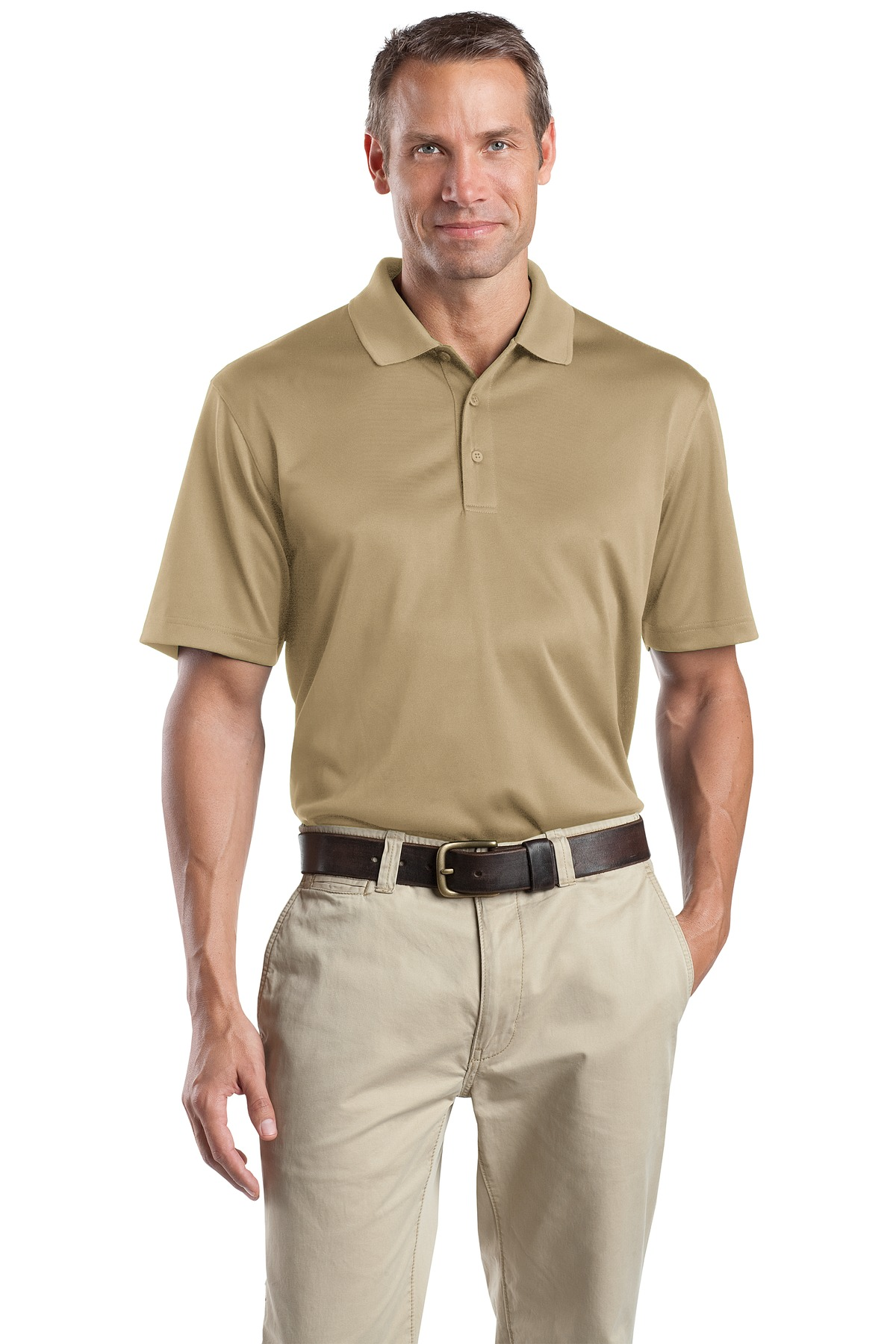 CornerStone ®  - Select Snag-Proof Polo. CS412 - Tan