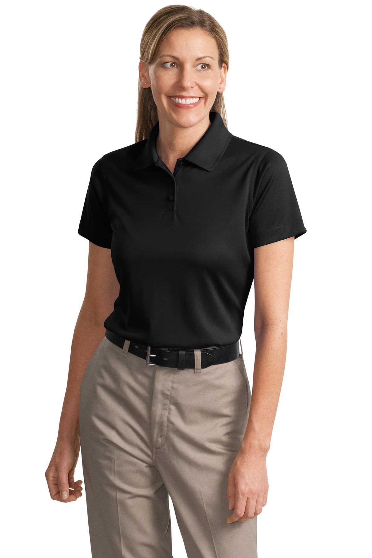 CornerStone ®  - Ladies Select Snag-Proof Polo. CS413 - Black