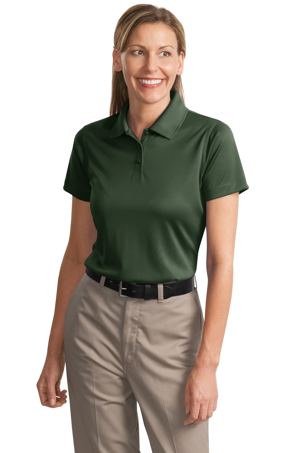 CornerStone ®  - Ladies Select Snag-Proof Polo. CS413 - Dark Green