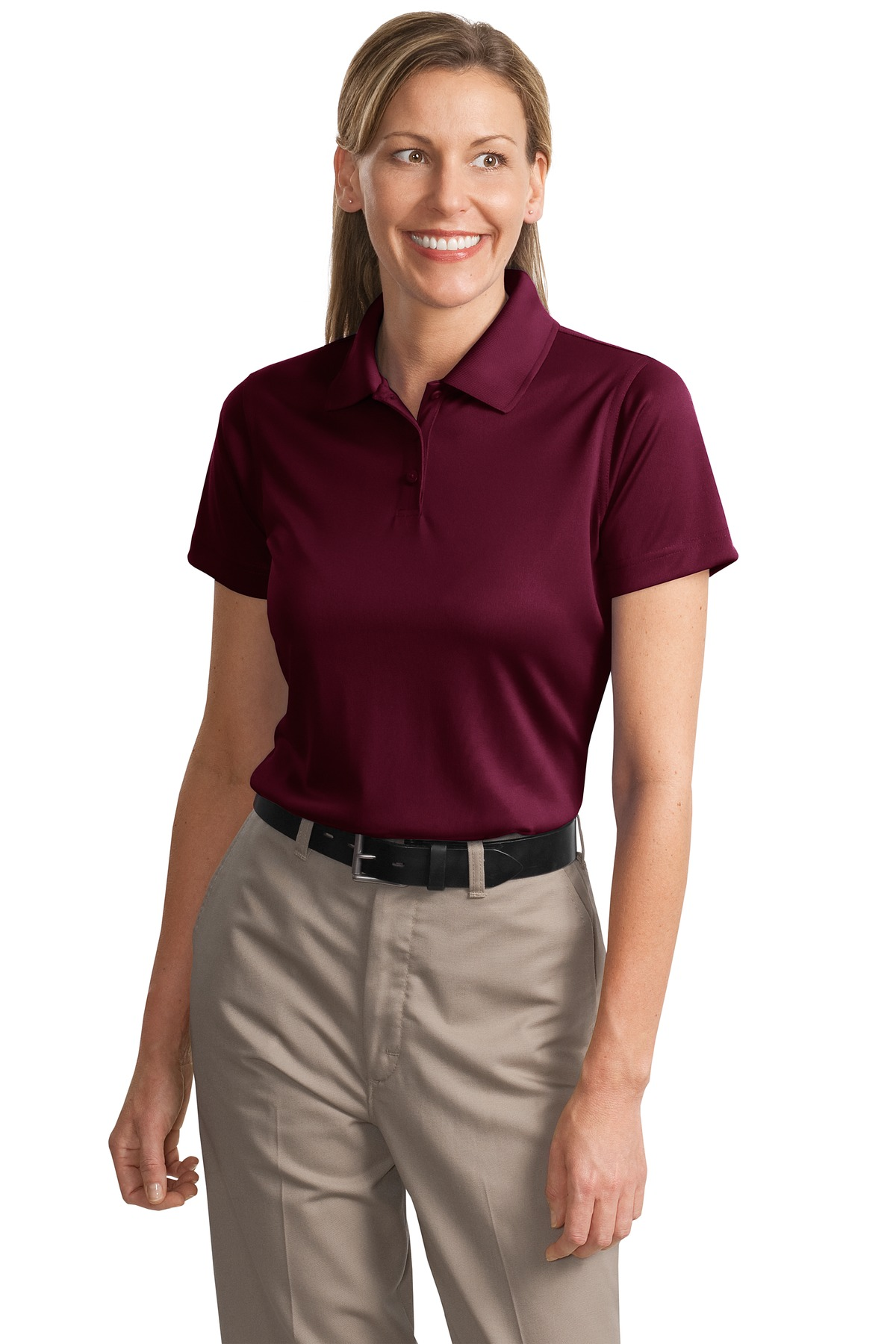 CornerStone ®  - Ladies Select Snag-Proof Polo. CS413 - Maroon