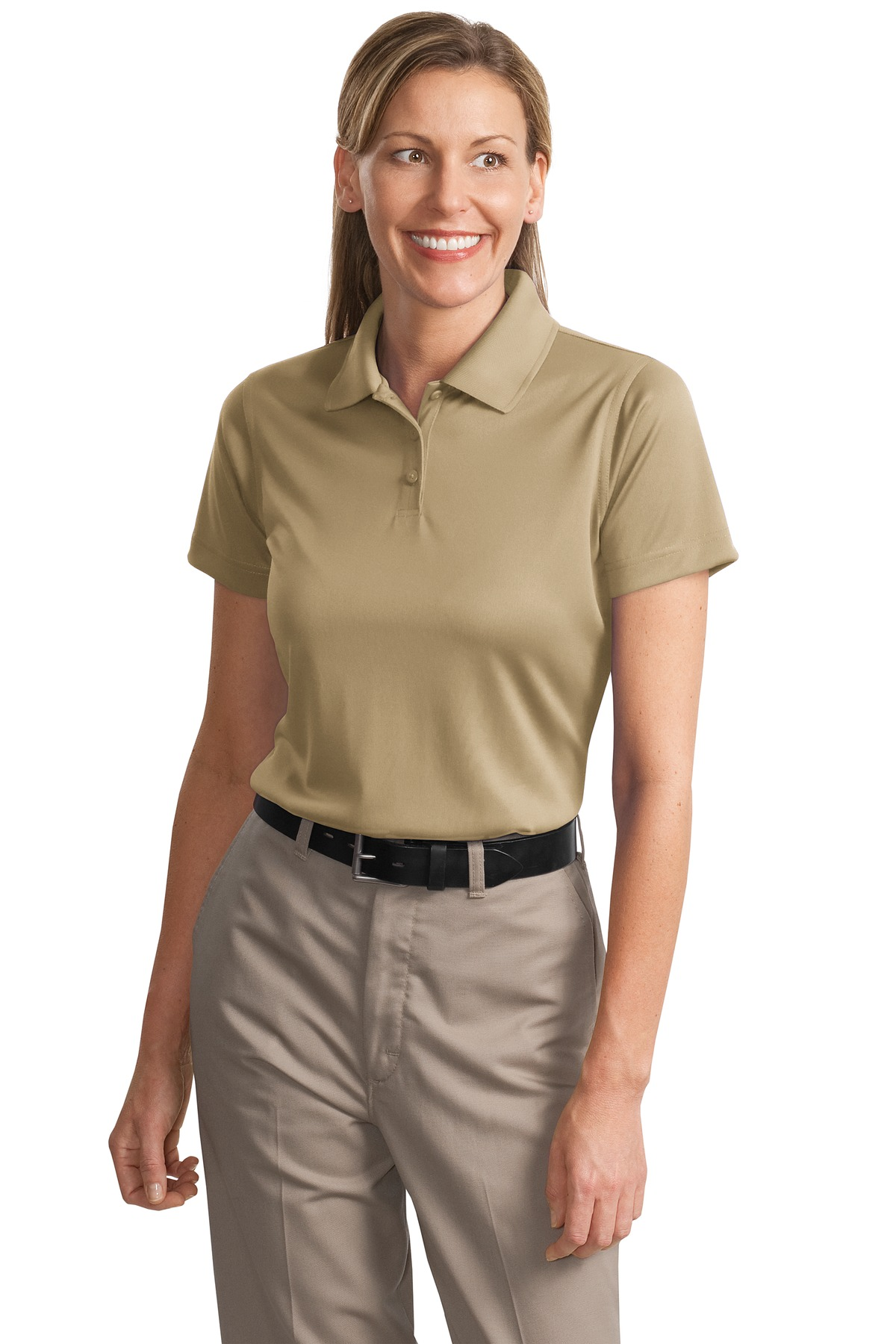 CornerStone ®  - Ladies Select Snag-Proof Polo. CS413 - Tan