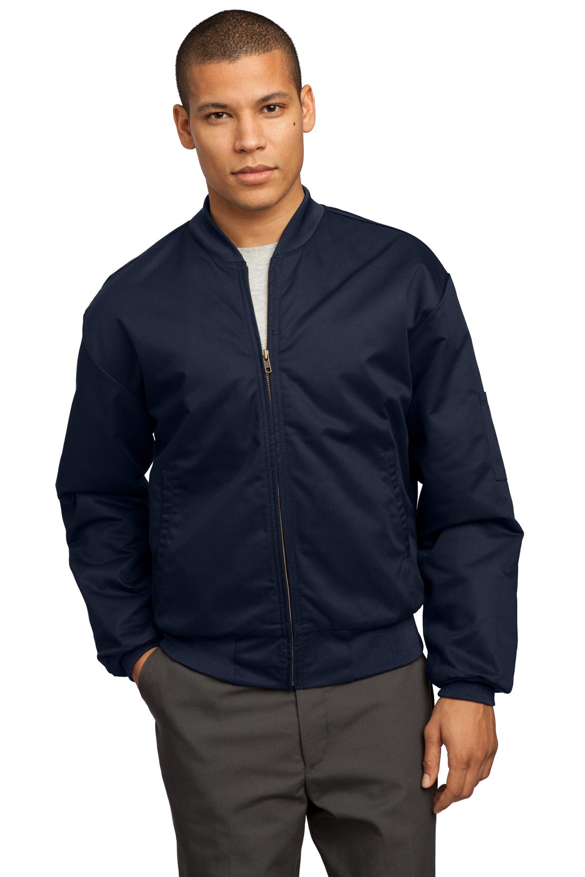 Red Kap ®  Team Style Jacket with Slash Pockets. CSJT38 - Navy