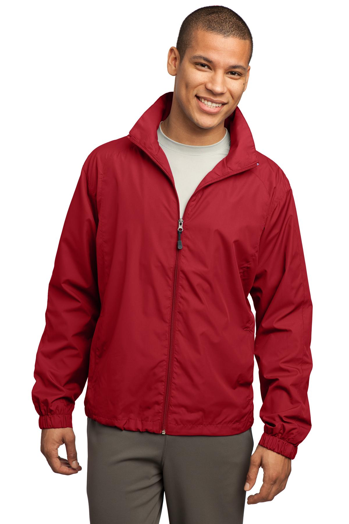 Sport-Tek ®  Full-Zip Wind Jacket. JST70 - True Red