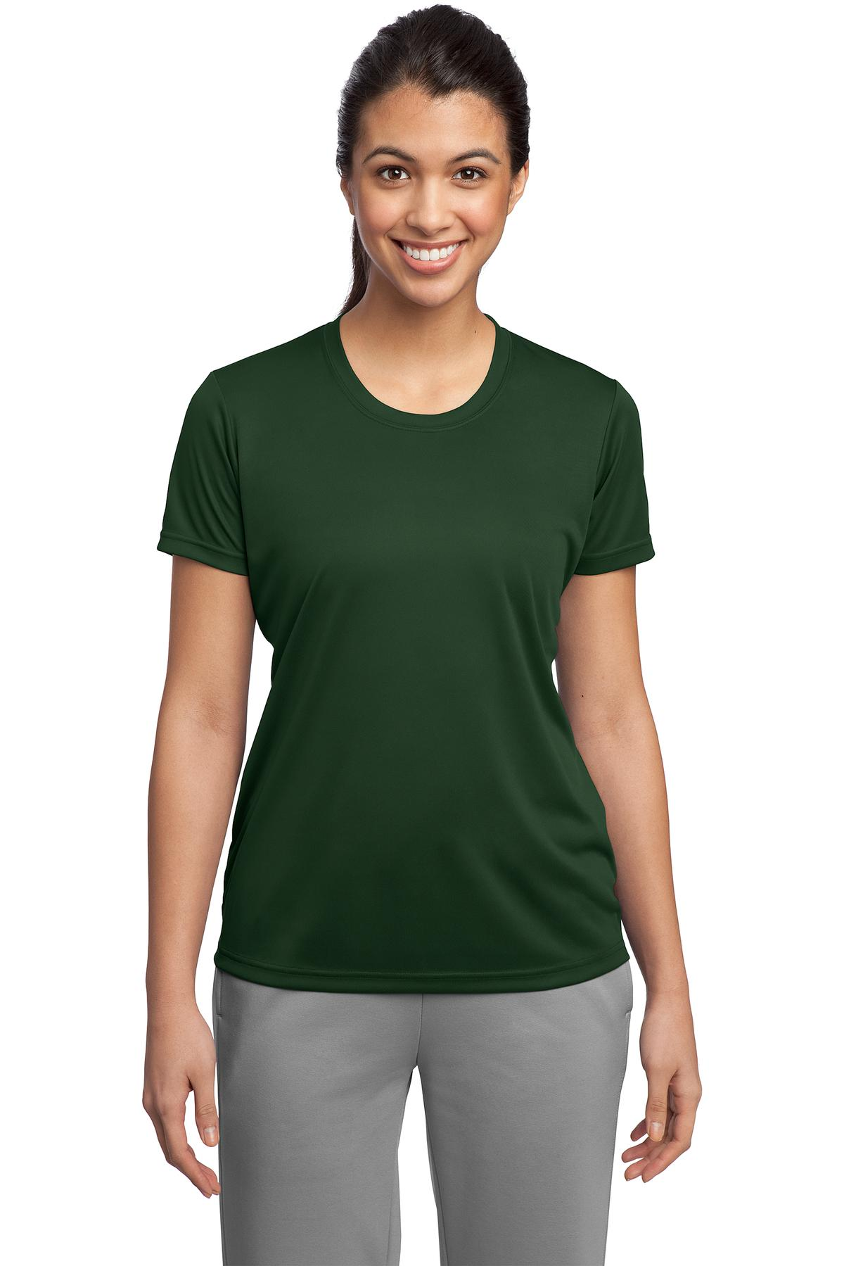 Sport-Tek ®  Ladies PosiCharge ®  Competitor™ Tee. LST350 - Forest Green