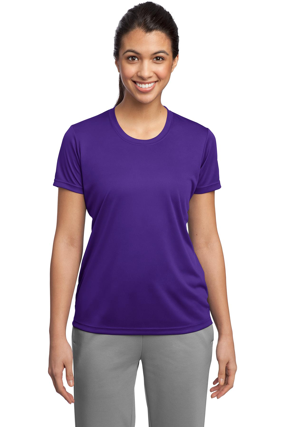 Sport-Tek ®  Ladies PosiCharge ®  Competitor™ Tee. LST350 - Purple