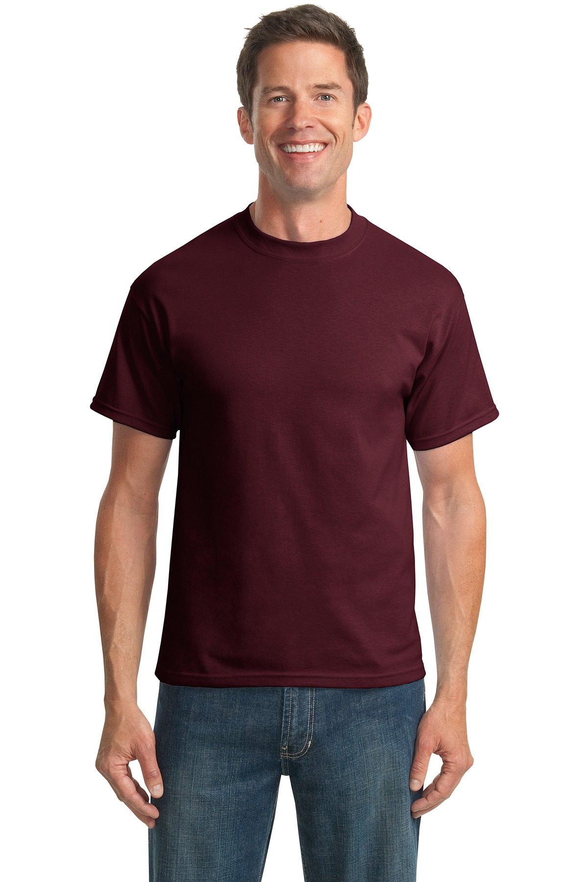 Port and Company Tall Core Blend Tee. PC55T