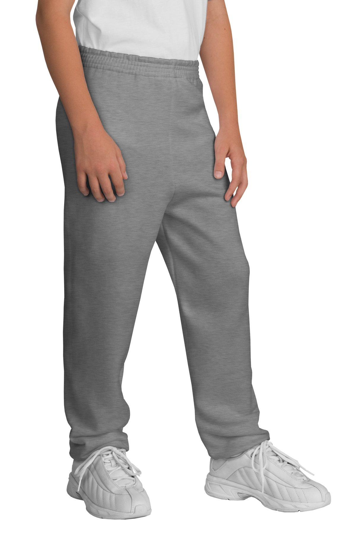 Port & Company ®  - Youth Core Fleece Sweatpant.  PC90YP - Athletic Heather
