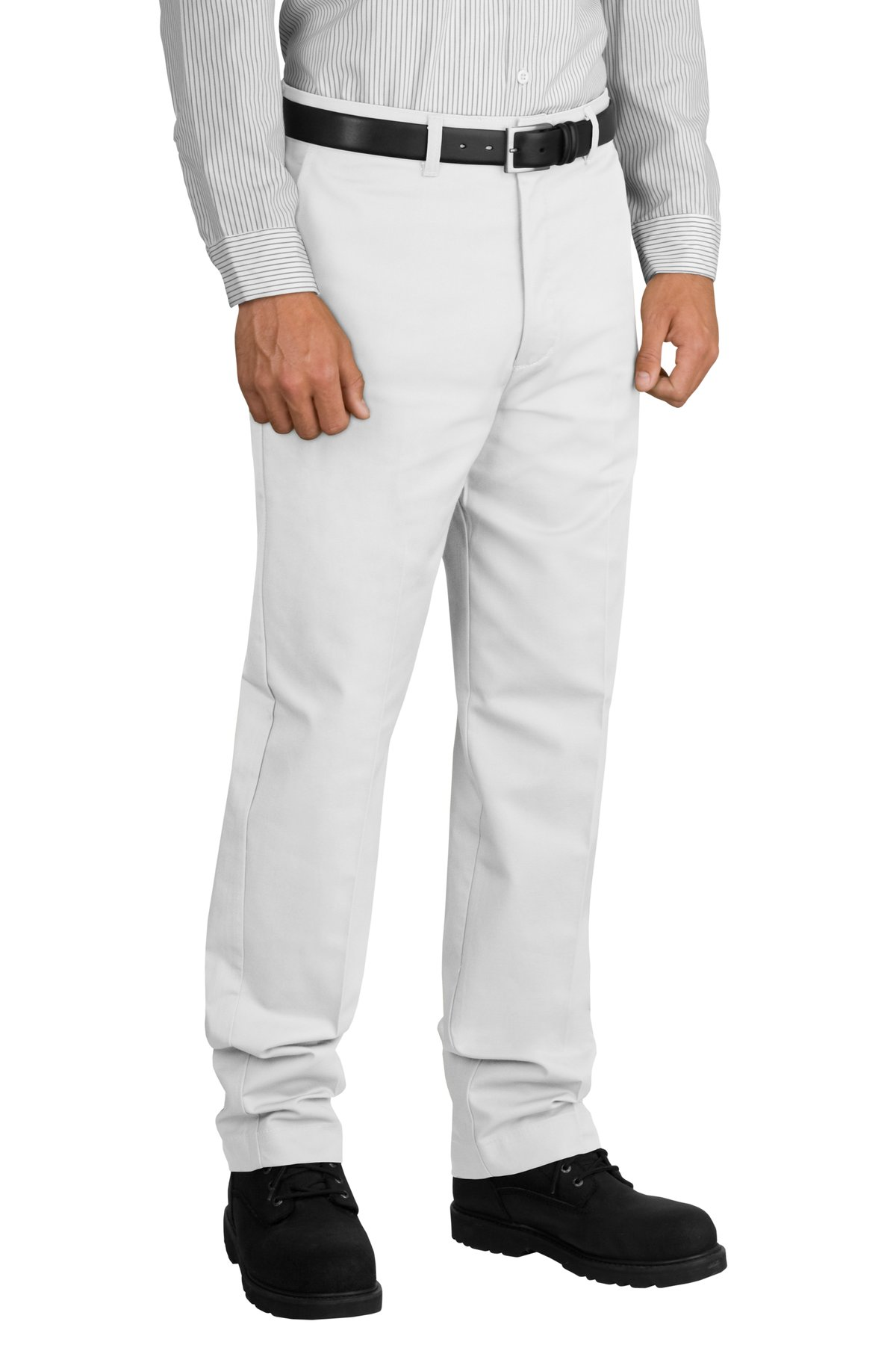 Red Kap ®  Industrial Work Pant.  PT20 - White