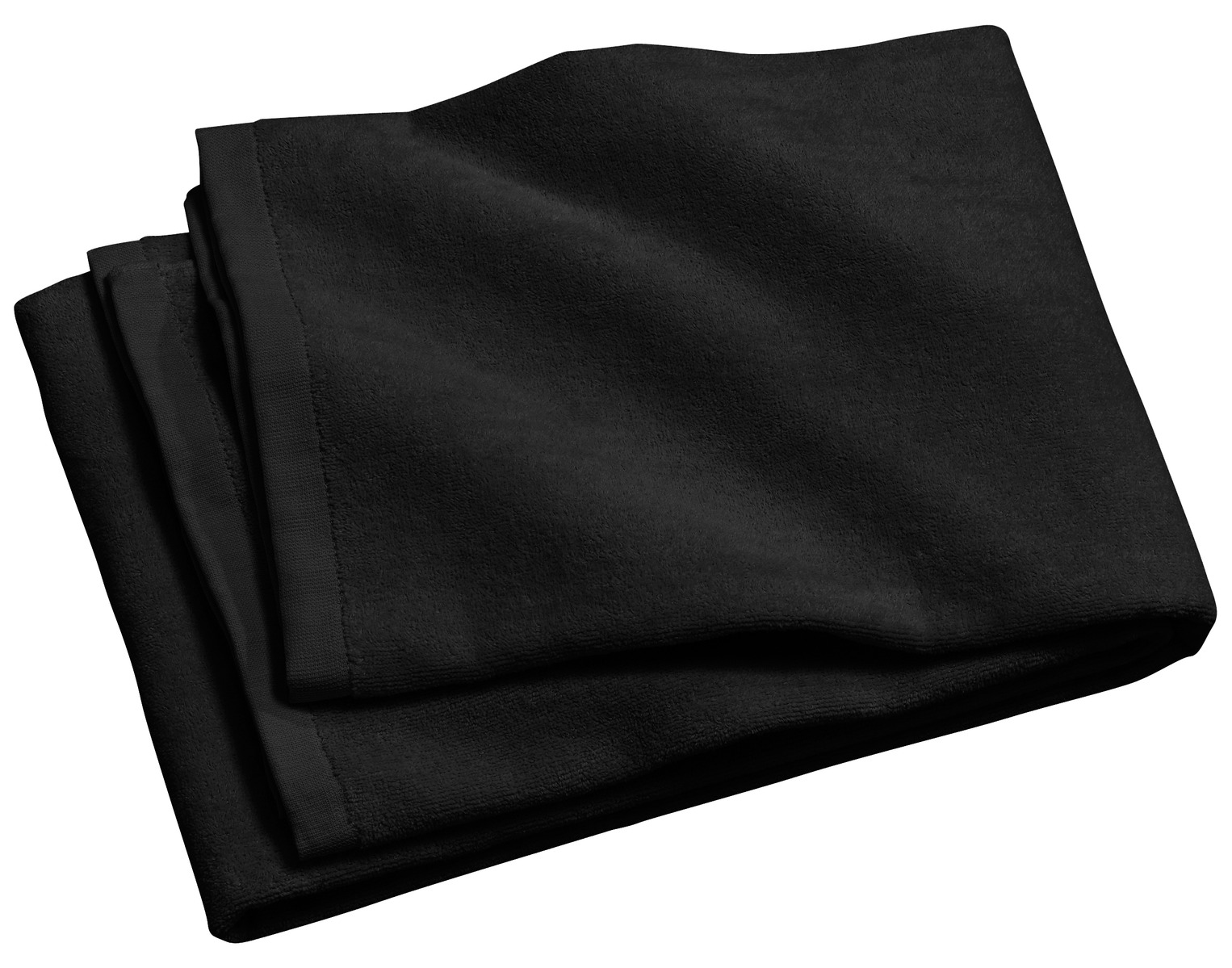 Port Authority ®  - Beach Towel.  PT42 - Black