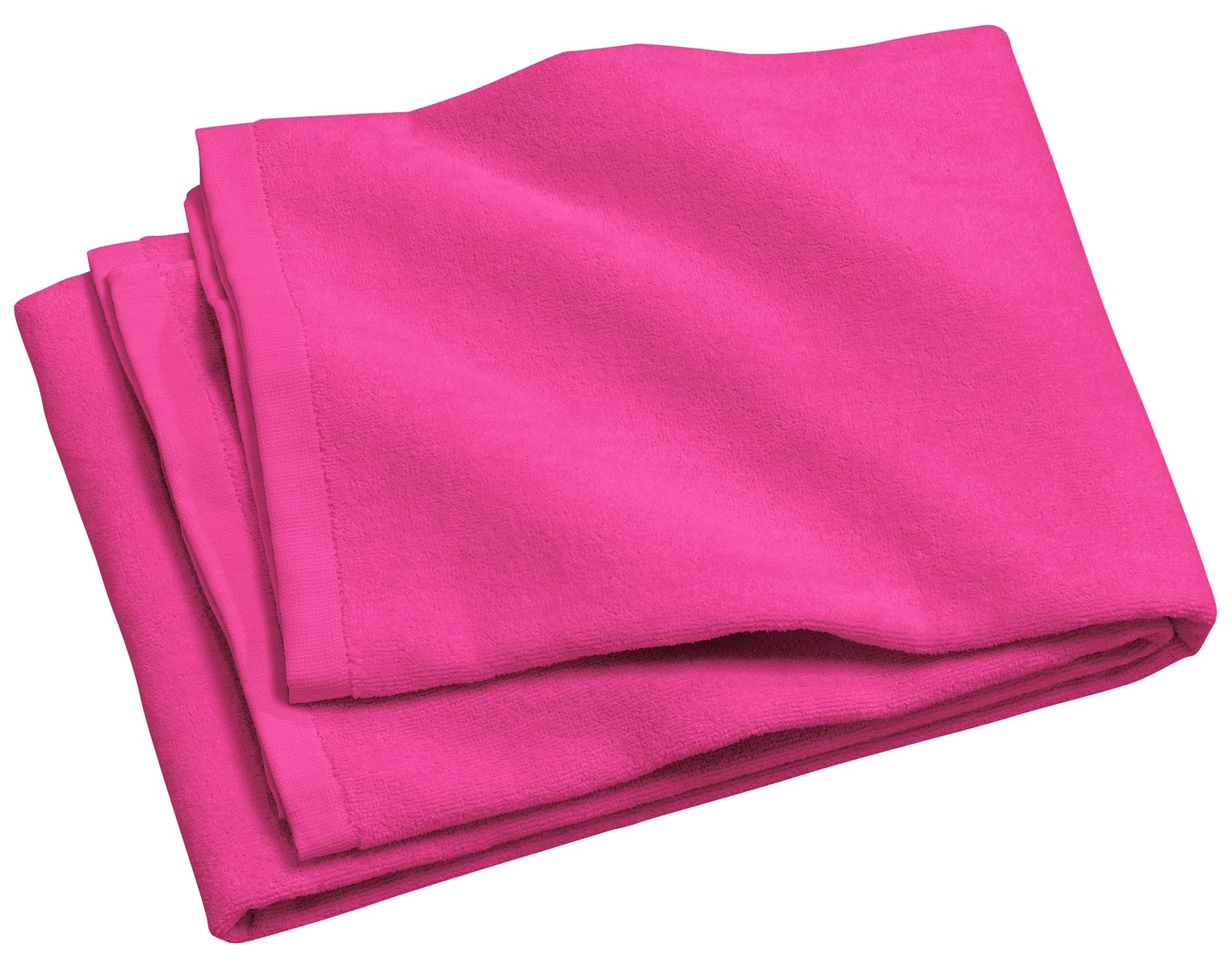 Port Authority ®  - Beach Towel.  PT42 - Tropical Pink