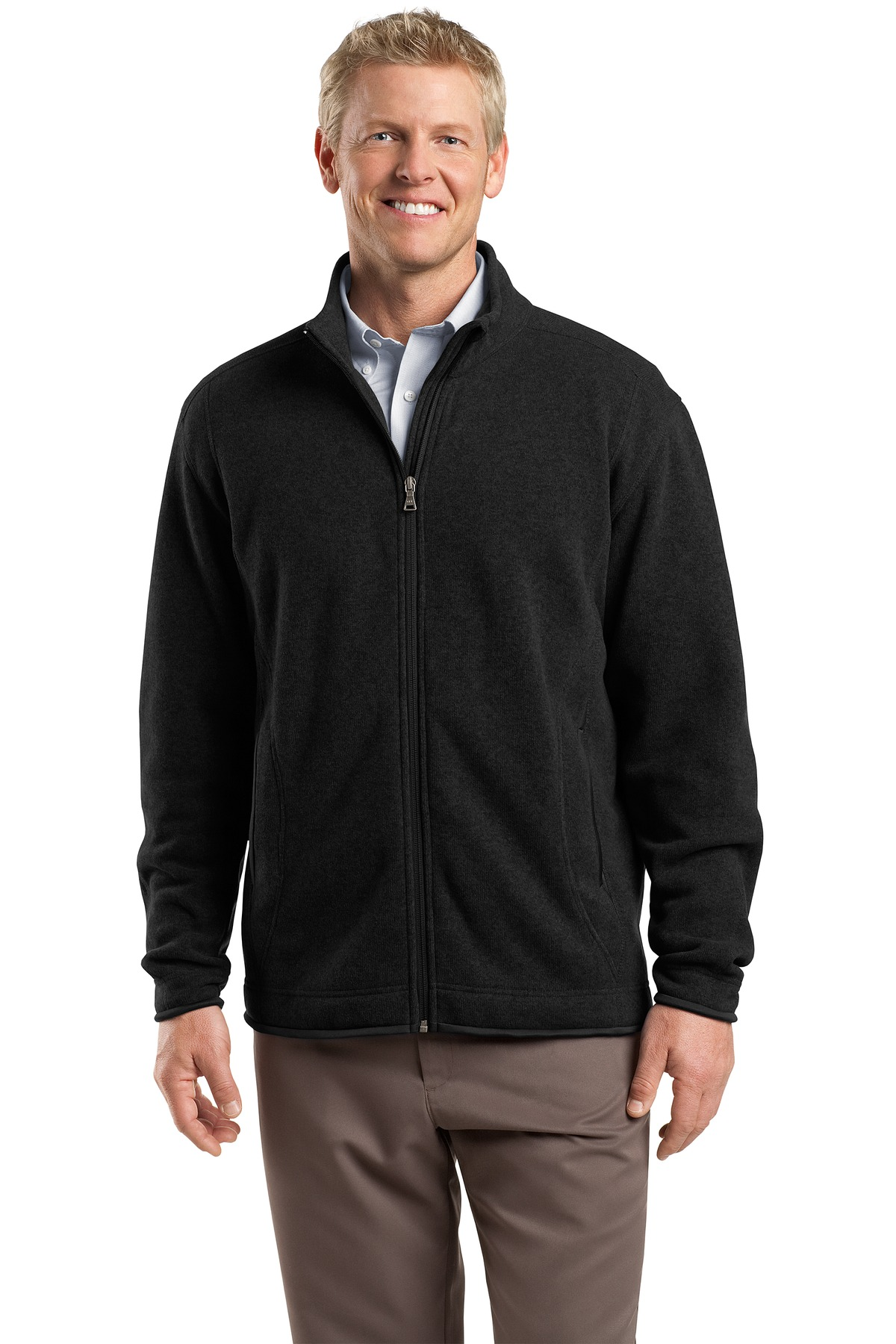 DISCONTINUED Red House - Sweater Fleece Full-Zip Jacket. RH54