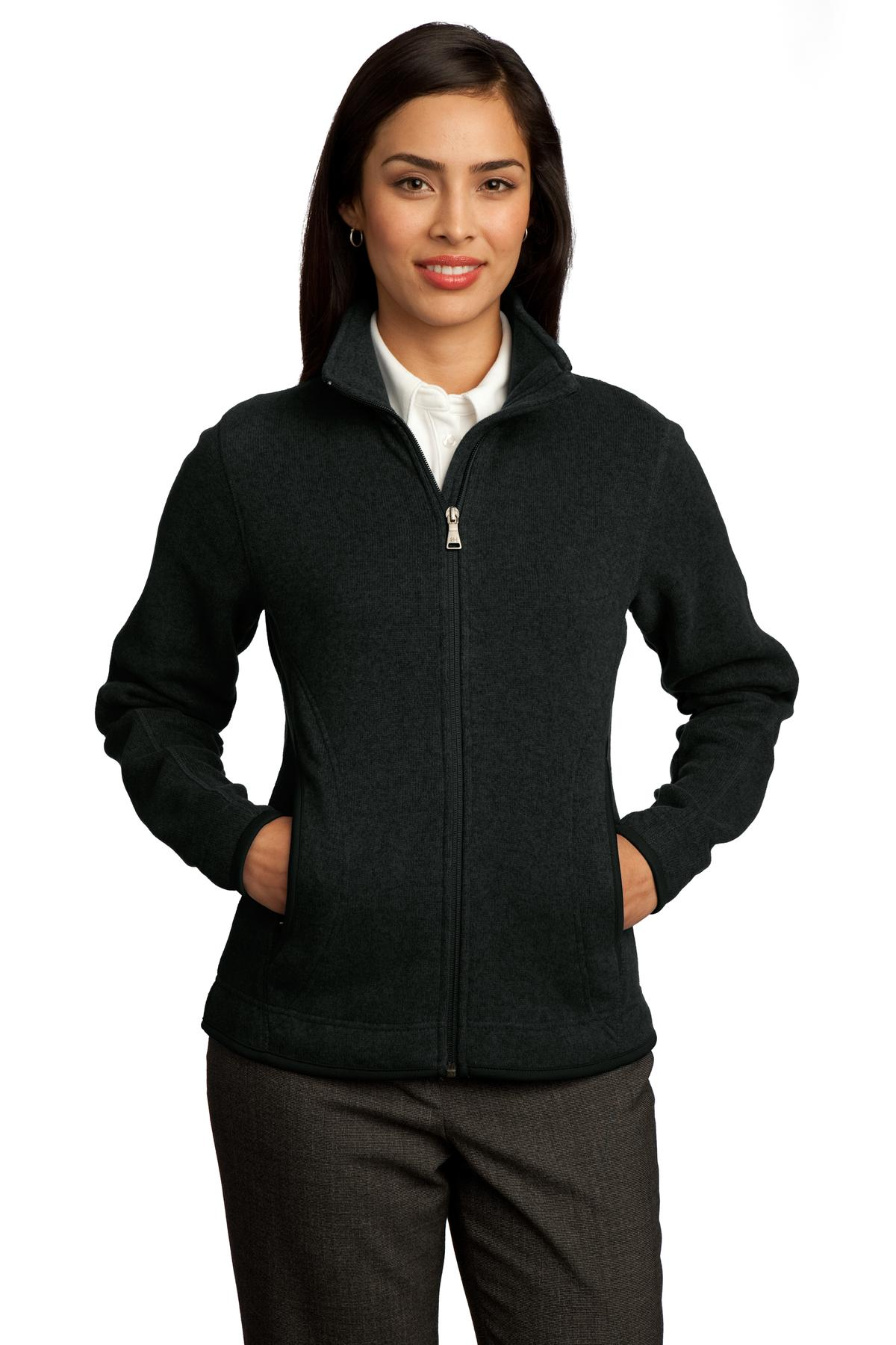 DISCONTINUED Red House - Ladies Sweater Fleece Full-Zip Jacket. RH55