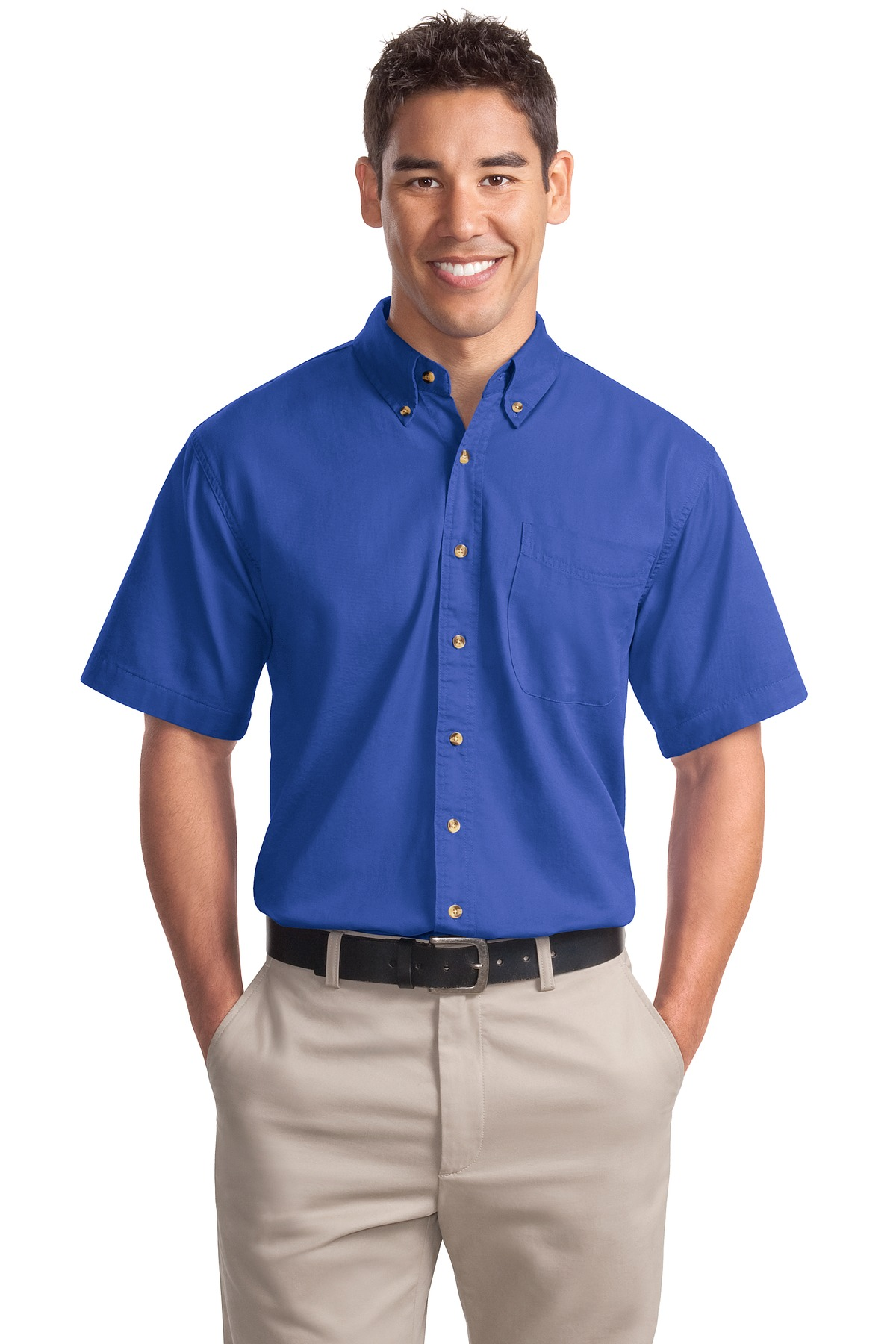 Port Authority ®  Short Sleeve Twill Shirt. S500T - Faded Blue