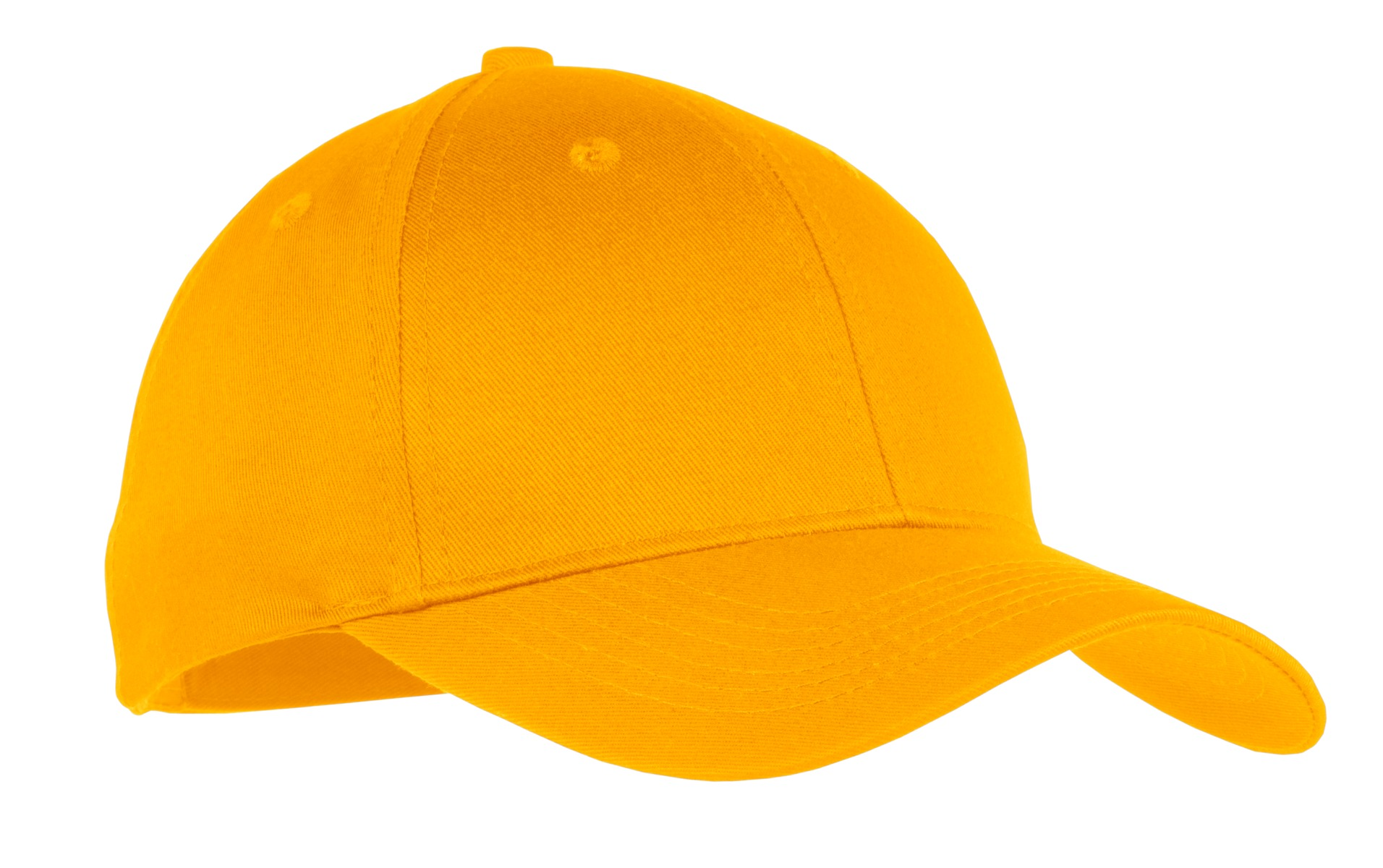 Port & Company ® Youth Six-Panel Twill Cap.  YCP80 - Athletic Gold