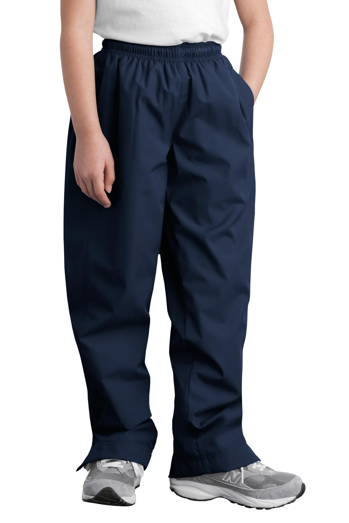 Sport-Tek ®  Youth Wind Pant. YPST74 - True Navy