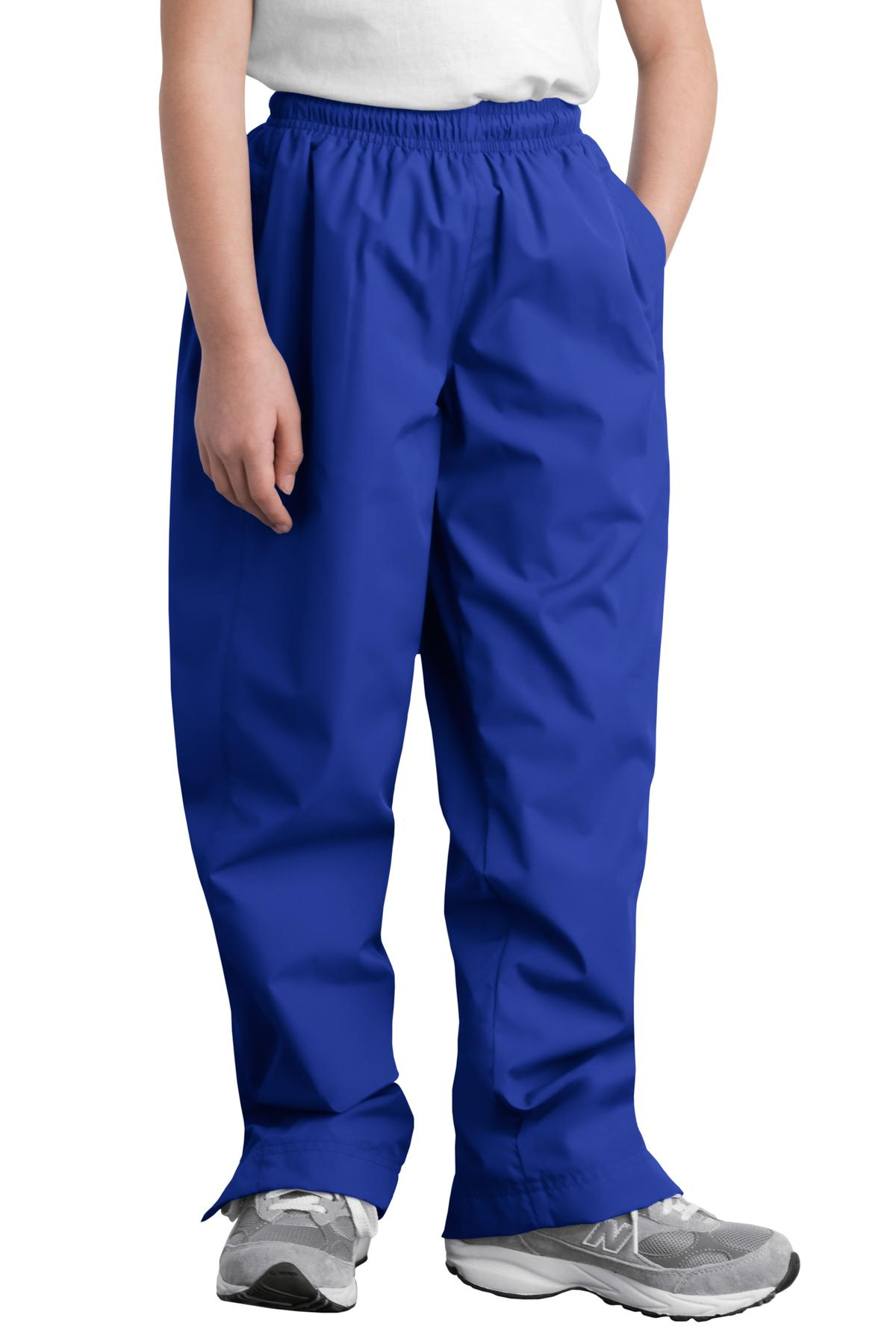 Sport-Tek ®  Youth Wind Pant. YPST74 - True Royal