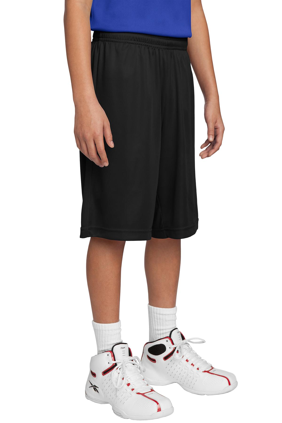 Sport-Tek ®  Youth PosiCharge ®  Competitor™ Short. YST355 - Black