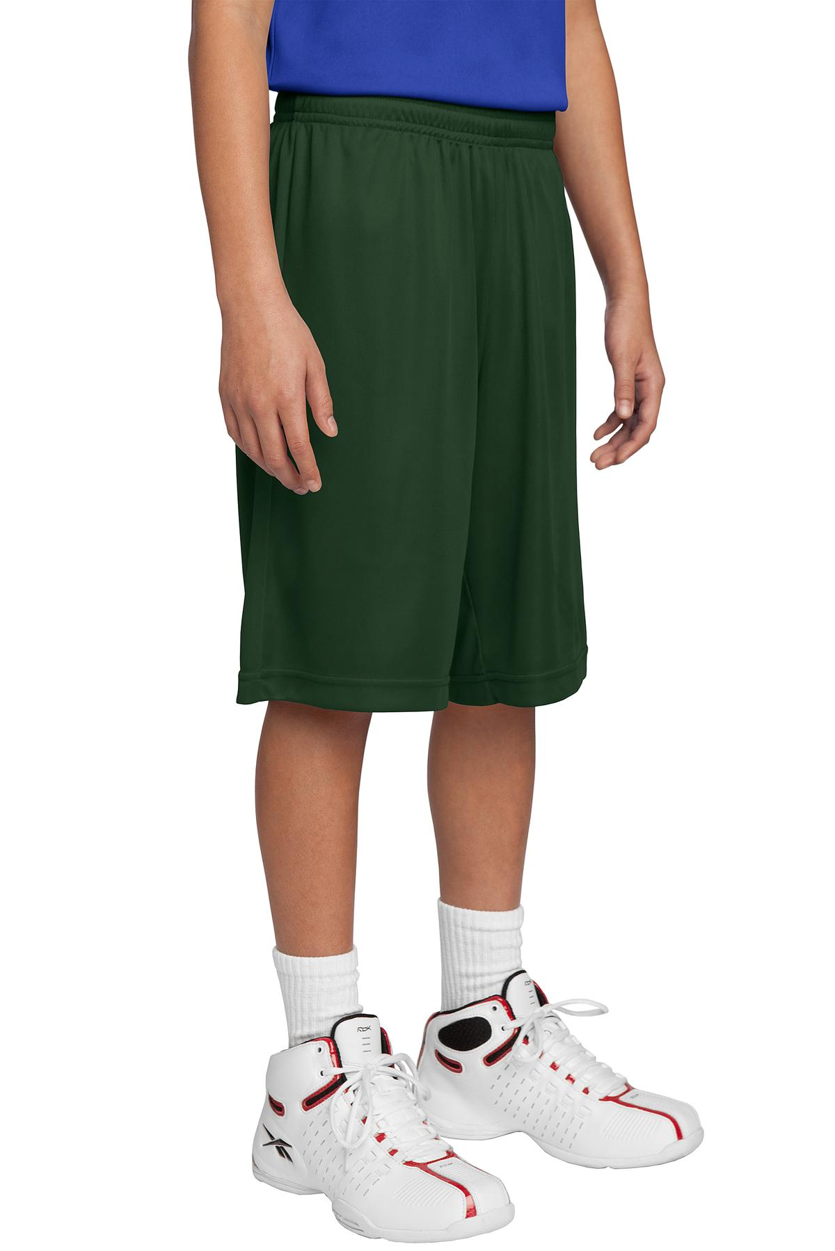 Sport-Tek ®  Youth PosiCharge ®  Competitor™ Short. YST355 - Forest Green